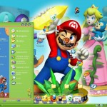 Tema mario bros windows xp Theme
