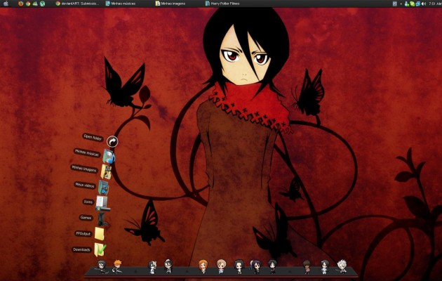 Theme Bleach for xp