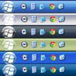 White Flag Orbs Theme for Windows XP