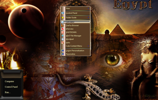 Win7 Egypt Desktop Theme
