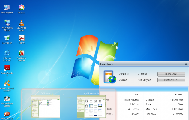 win7 viglance theme for xp