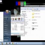 Windows 7 replica theme for xp