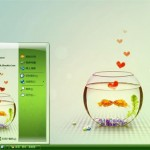 fish kiss xp theme