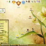 Flower Desktop Theme for XP