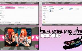kaws seven max clear w7 theme