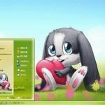 Schnuffel Bunny Theme for Windows XP