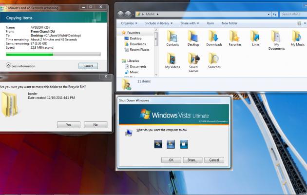 vista transform pack theme for windows XP