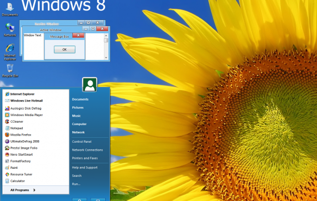 Windows 8 Update Theme for Windows XP