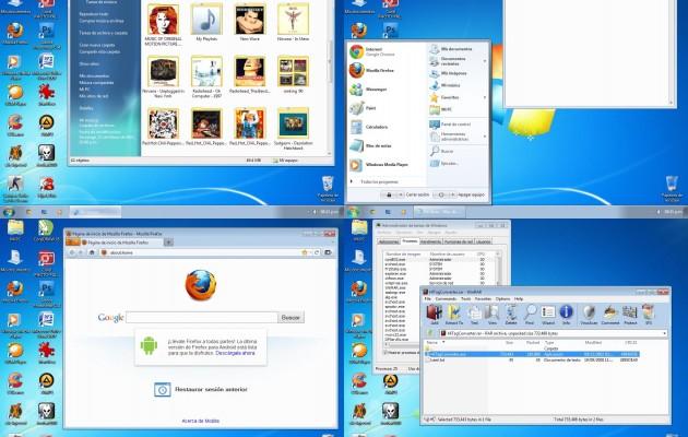 Windows Seven Basic Theme for Windows XP