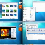 Windows Seven Basic Ultimate theme for windows XP