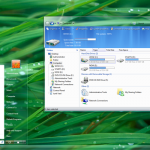 AeroVG Visual Style for Windows Vista