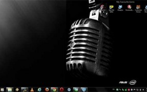 Asus And Intel Theme For Windows 7