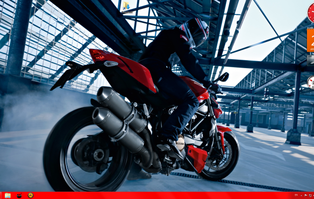 Ducati Windows 7 theme