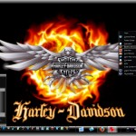 Harley Davidson Theme for Win7