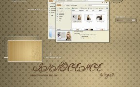 Innocence Release Theme for Windows Vista