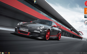 Porsche Windows 7 theme