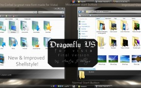 Dragonfly Visual Style for Vista