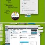 Fresh Slim Desktop Theme for Vista