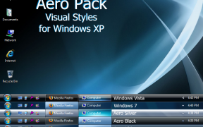 Aero Pack XP Theme