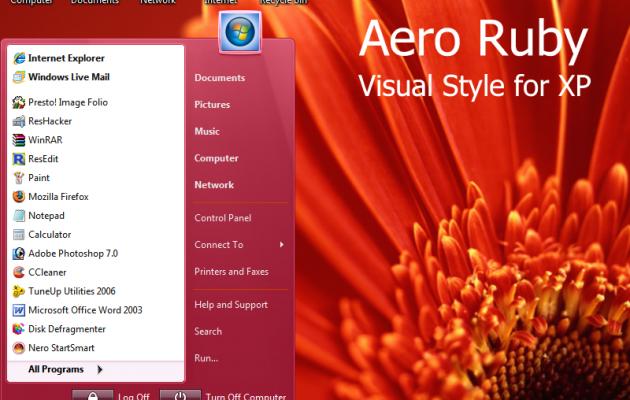 Aero Ruby For XP