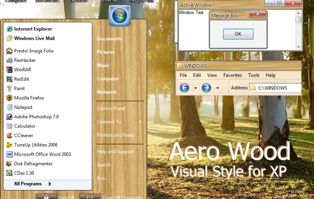 Aero Wood For XP