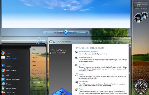 AeroStatic Background for Vista