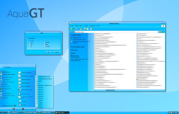 AquaGT XP Theme