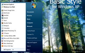 Basic Style XP Theme
