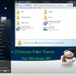 Christmas Frost Theme for XP