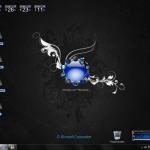 Dark Microfleur XP Theme