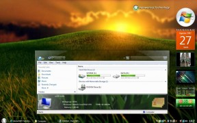 GlassGlow RC1 Desktop Theme for Vista