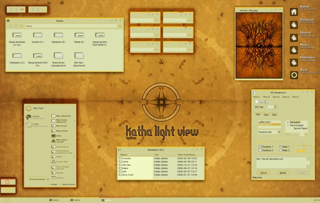 Katha Light XP Theme