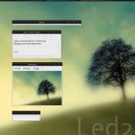 Led2 XP Theme