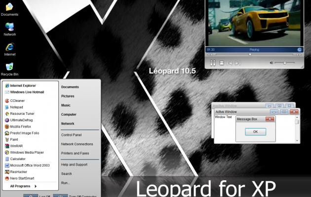 Leopard XPTheme