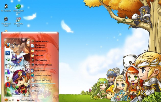 Maple XP Theme