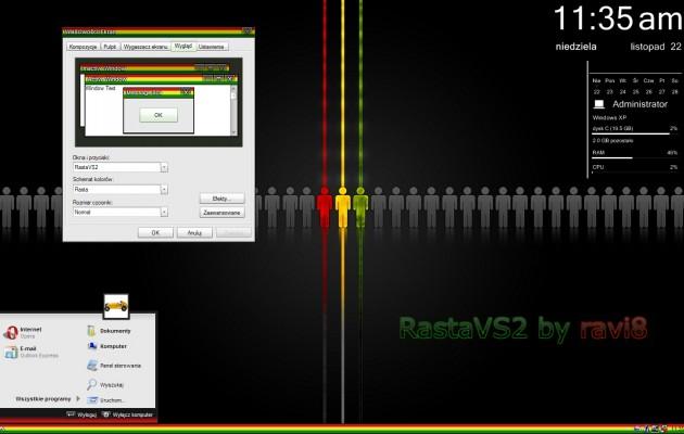 Rasta Style XP Theme