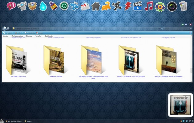 ReSkull Desktop Theme for Vista