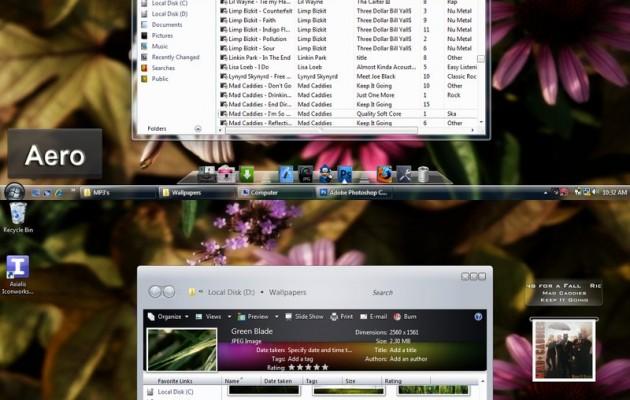 Remix Aero Vista Desktop Themes