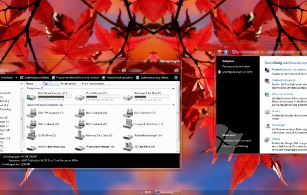 Smooth v2 Desktop Themes for Vista