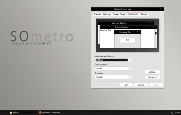 SoMetro XP Theme