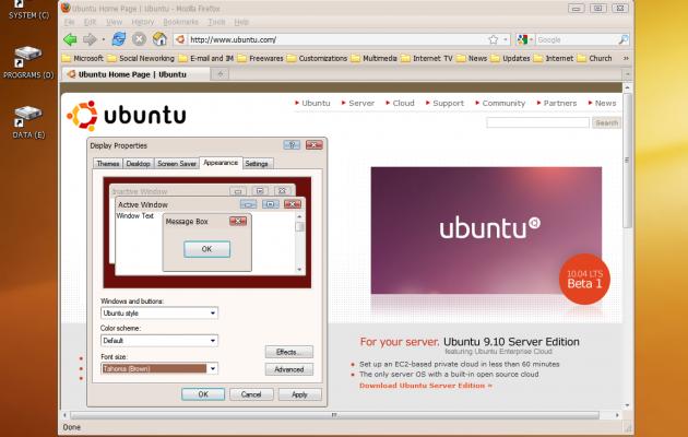 Ubuntu XP Theme