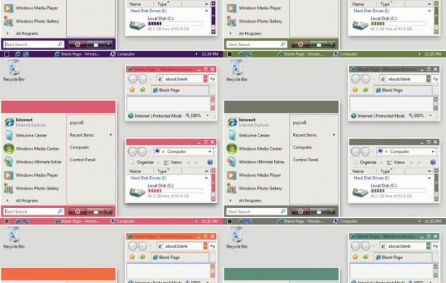 Vista Plain Basic Theme
