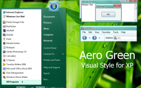 Aero Green XP Theme
