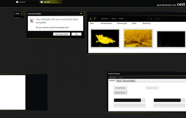 c'est la vie Desktop Themes for Vista