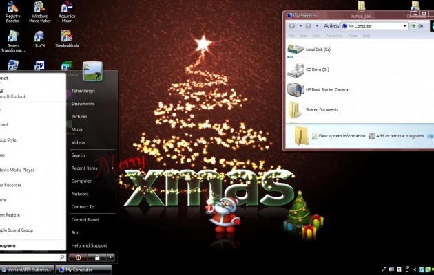 Christmas Theme for XP