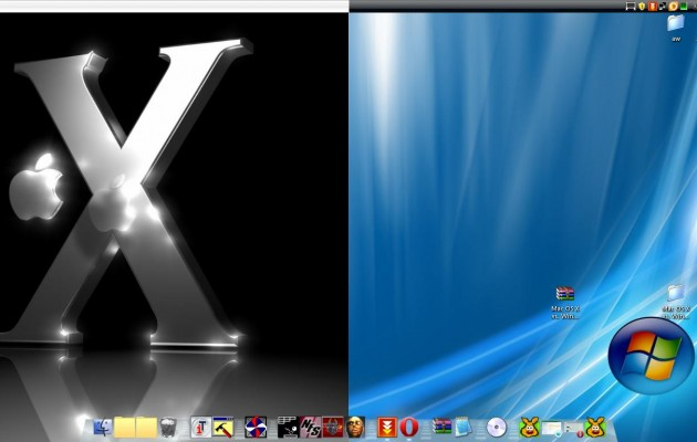 Mac vista hybrid XP Theme