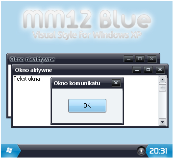 MM12 Blue Windows XP Theme