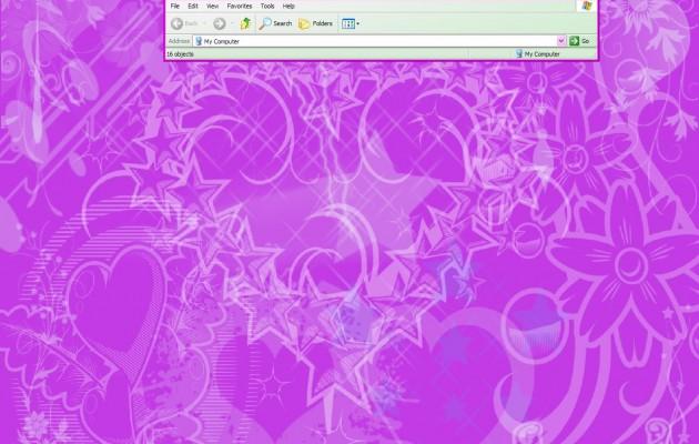 Pink Xp theme