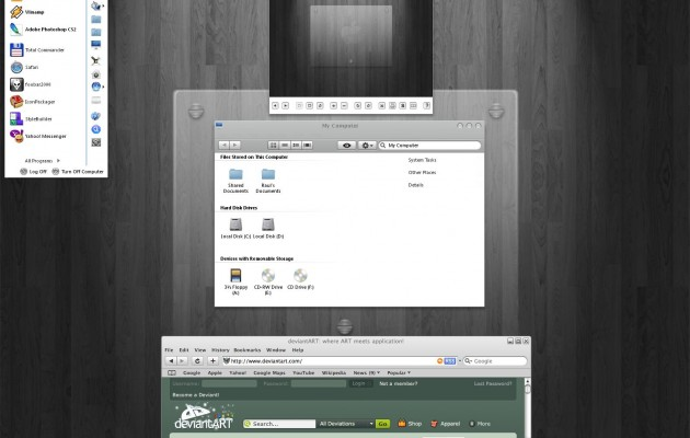 Apple Leopard XP Theme