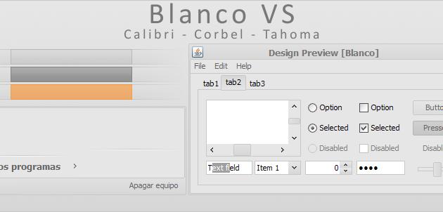 Blanco VS For XP